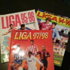 Coleccionismo deportivo: LOTE ALBUMS FUTBOL PANINI 97/98,95/96 Y 94/95. Lote 109152714