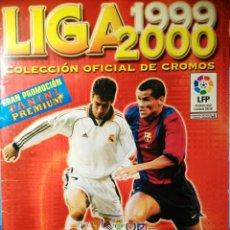 Coleccionismo deportivo: ALBUM FUTBOL LIGA 1999 2000 PANINI. Lote 109155188