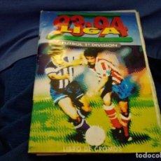 Coleccionismo deportivo: ÁLBUM 93/94 ESTE. BASTANTE COMPLETO. LEER DESCRIPCIÓN. Lote 109155743