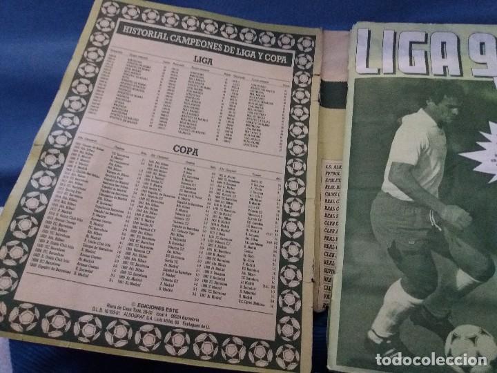 Coleccionismo deportivo: ÁLBUM 91/92 ESTE. BASTANTE COMPLETO. LEER DESCRIPCIÓN - Foto 5 - 109158975