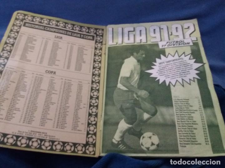 Coleccionismo deportivo: ÁLBUM 91/92 ESTE. BASTANTE COMPLETO. LEER DESCRIPCIÓN - Foto 6 - 109158975