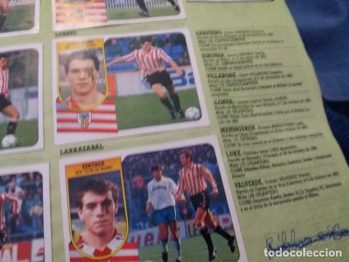 Coleccionismo deportivo: ÁLBUM 91/92 ESTE. BASTANTE COMPLETO. LEER DESCRIPCIÓN - Foto 15 - 109158975