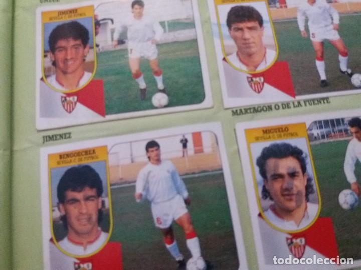 Coleccionismo deportivo: ÁLBUM 91/92 ESTE. BASTANTE COMPLETO. LEER DESCRIPCIÓN - Foto 22 - 109158975
