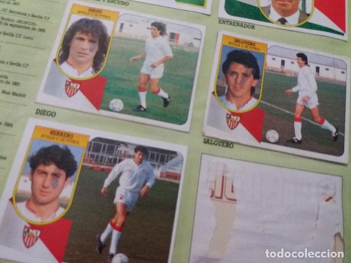 Coleccionismo deportivo: ÁLBUM 91/92 ESTE. BASTANTE COMPLETO. LEER DESCRIPCIÓN - Foto 41 - 109158975