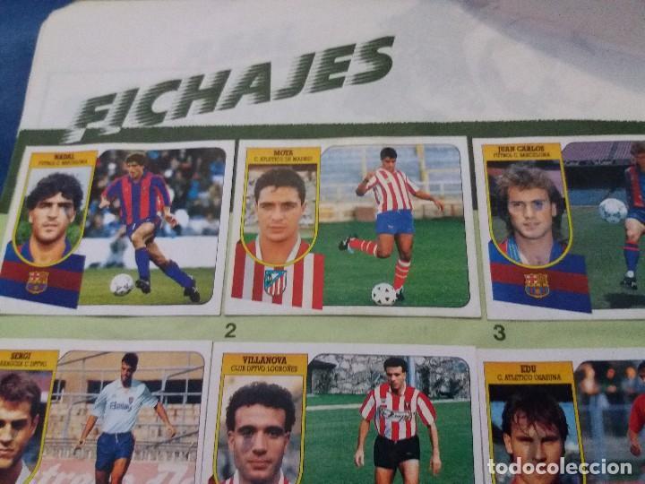 Coleccionismo deportivo: ÁLBUM 91/92 ESTE. BASTANTE COMPLETO. LEER DESCRIPCIÓN - Foto 46 - 109158975