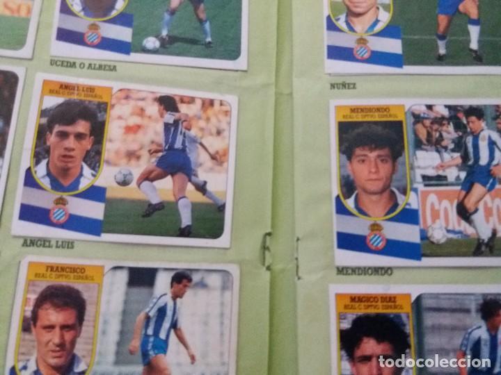 Coleccionismo deportivo: ÁLBUM 91/92 ESTE. BASTANTE COMPLETO. LEER DESCRIPCIÓN - Foto 49 - 109158975