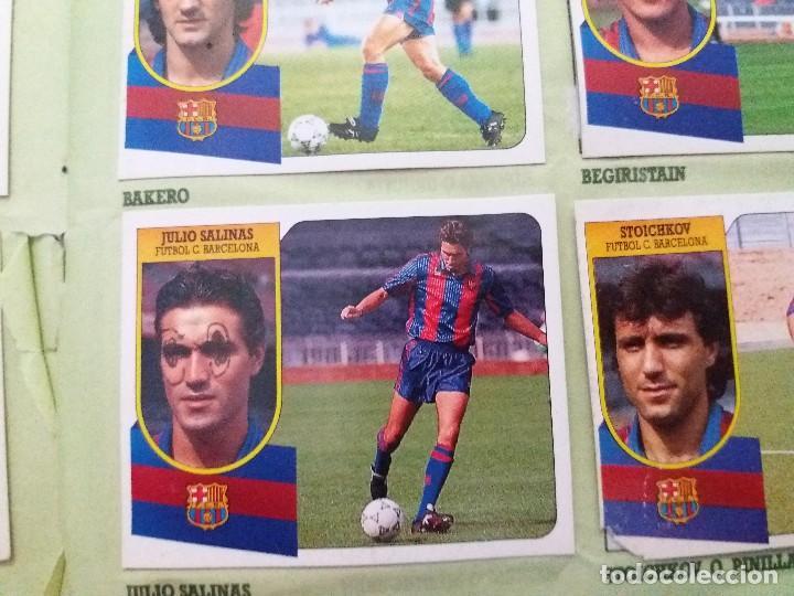 Coleccionismo deportivo: ÁLBUM 91/92 ESTE. BASTANTE COMPLETO. LEER DESCRIPCIÓN - Foto 50 - 109158975