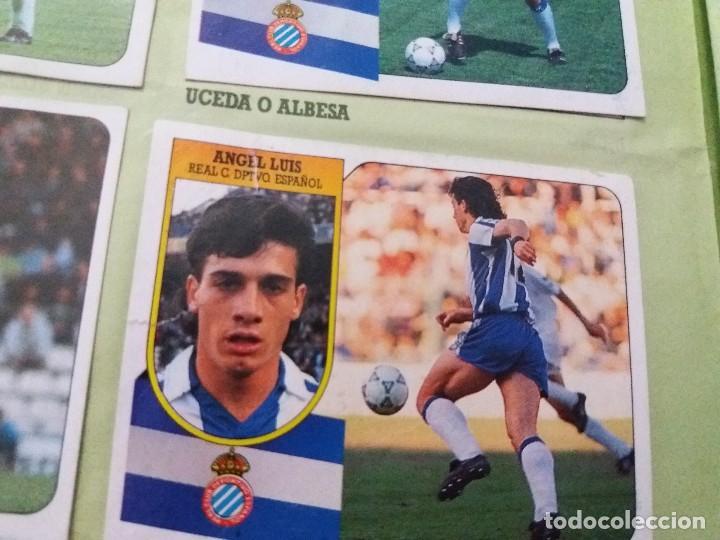 Coleccionismo deportivo: ÁLBUM 91/92 ESTE. BASTANTE COMPLETO. LEER DESCRIPCIÓN - Foto 52 - 109158975