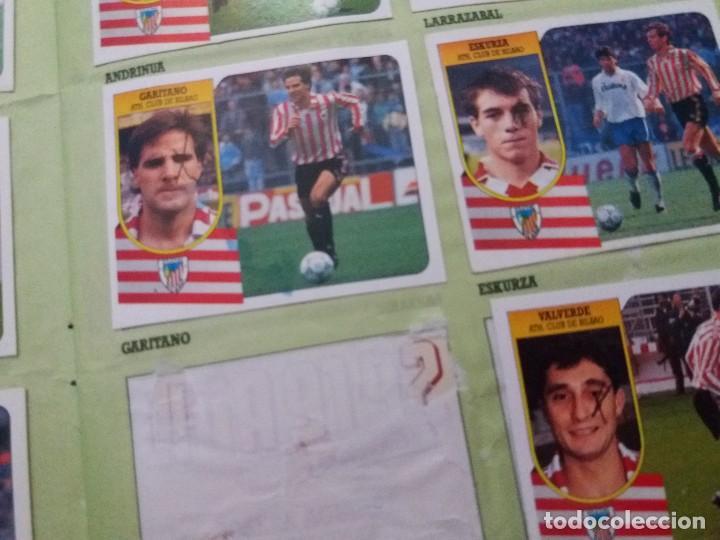 Coleccionismo deportivo: ÁLBUM 91/92 ESTE. BASTANTE COMPLETO. LEER DESCRIPCIÓN - Foto 53 - 109158975