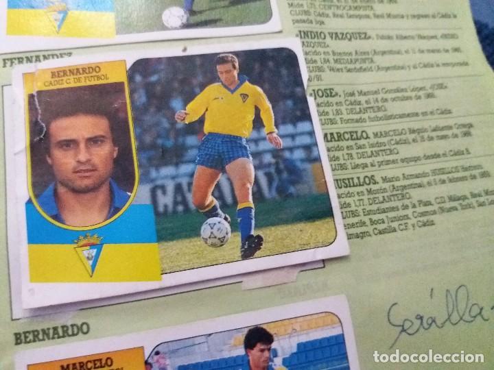 Coleccionismo deportivo: ÁLBUM 91/92 ESTE. BASTANTE COMPLETO. LEER DESCRIPCIÓN - Foto 56 - 109158975