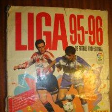 Coleccionismo deportivo: ALBUM DE LA LIGA 95-96 DE PANINI CON 312 CROMOS. Lote 109178575