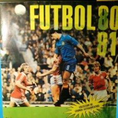 Coleccionismo deportivo: ALBUM FUTBOL 80 81 CROMO CROM CON 352 CROMOS!!. Lote 109260639