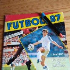 Coleccionismo deportivo: ÁLBUM PANINI FUTBOL 1987 1ª DIVISION Y ESTRELLAS DEL MUNDIAL. Lote 109361115