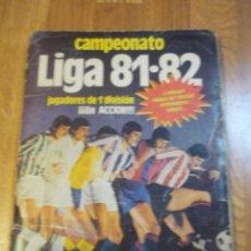 Coleccionismo deportivo: ÁLBUM ESTE 81/82 MUY COMPLETO CON 361 CROMOS. Lote 109366563