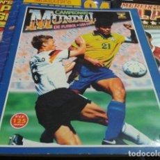 Coleccionismo deportivo: MUNDIAL DE FUTBOL USA 94 EDICIONES ESTADIO TIENE 332 CROMOS MUY BIEN CONSERVADO. Lote 109400991