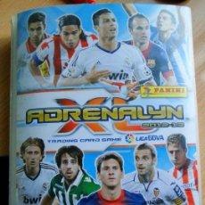 Coleccionismo deportivo: ADRENALYN 2012-13 VER CONTENIDO . Lote 109405003
