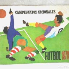 Coleccionismo deportivo: CAMPEONATOS NACIONALES FUTBOL 1970, EDITORIAL RUIZ ROMERO. Lote 109556459