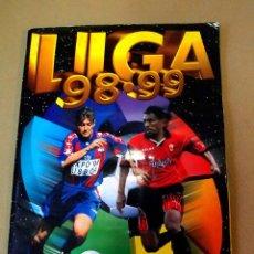 Coleccionismo deportivo: ALBUM LIGA 98 - 99, 1998 - 1999, EDICIONES ESTE, INCOMPLETO, FALTAN 8 CROMOS Y 14 ULTIMOS FICHAJES. Lote 109602019
