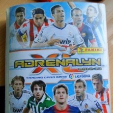 Coleccionismo deportivo: ÁLBUM ADRENALYN 12-13 CON 385 CROMOS DIFERENTES MIRAR EL CONTENIDO . Lote 109744443