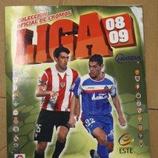 Coleccionismo deportivo: ALBUM CAMPEONATO NACIONAL DE LIGA 2008-2009. COLECCIONES ESTE. PANINI. FALTA ALGUN ULTIMO FICHAJE. Lote 109762948