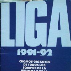 Coleccionismo deportivo: ALBUM LIGA 1991-92 + GENTO. FALTAN 9 CROMOS. Lote 109856591