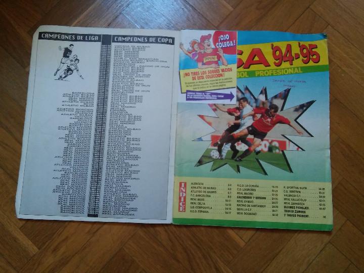 Coleccionismo deportivo: PANINI (NO ESTE) TEMPORADA 1994 1995 - 94 95 - LEER DESCRIPCION - Foto 2 - 48329747