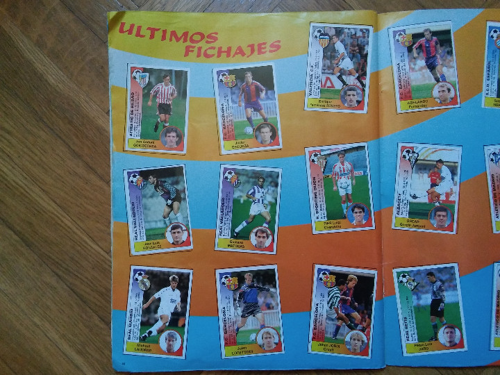 Coleccionismo deportivo: PANINI (NO ESTE) TEMPORADA 1994 1995 - 94 95 - LEER DESCRIPCION - Foto 6 - 48329747
