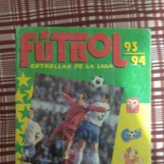 Coleccionismo deportivo: ÁLBUM FÚTBOL 93-94, ESTRELLAS DE LA LIGA INCOMPLETO. Lote 110182378