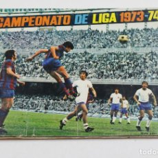 Coleccionismo deportivo: CAMPEONATO DE LIGA 1973-74. ÁLBUM INCOMPLETO, VER. . Lote 110222227