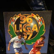 Coleccionismo deportivo: LIGA ESTE 96 97 1996 1997 ALBUM PANINI MUCHOS CROMOS + MUCHOS DOBLES. Lote 110294915