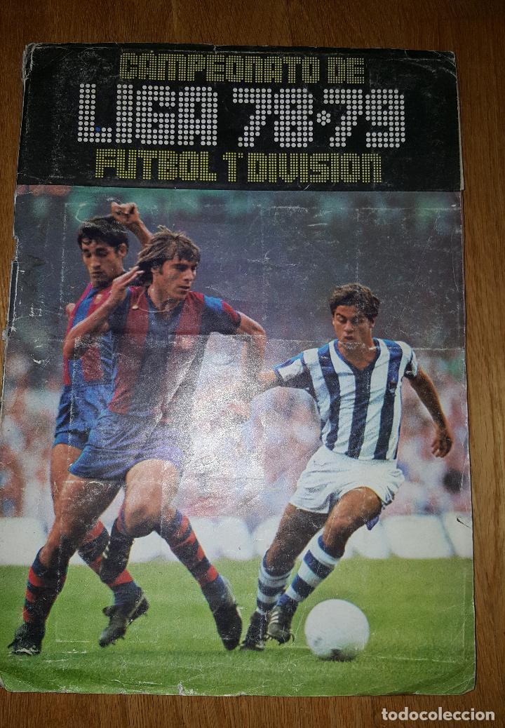 ALBUM CAMPEONATO DE LIGA 78 - 79 FUTBOL 1ª DIVISION. EDICIONES ESTE (Coleccionismo Deportivo - Álbumes y Cromos de Deportes - Álbumes de Fútbol Incompletos)