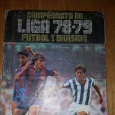 Coleccionismo deportivo: ALBUM CAMPEONATO DE LIGA 78 - 79 FUTBOL 1ª DIVISION. EDICIONES ESTE. Lote 110443891