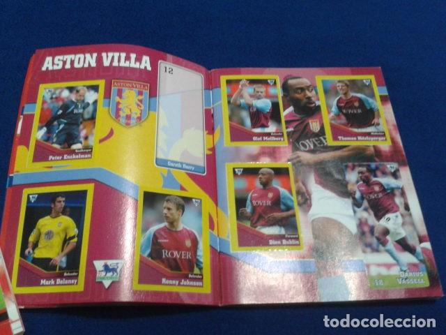Coleccionismo deportivo: MINI ALBUM DE CHICLE POCKET COLLECTION F.A. PREMIER LEAGUE 2003 / 04 MERLIN FANTAN 15 CROMOS - Foto 4 - 110495075