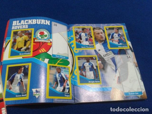 Coleccionismo deportivo: MINI ALBUM DE CHICLE POCKET COLLECTION F.A. PREMIER LEAGUE 2003 / 04 MERLIN FANTAN 15 CROMOS - Foto 6 - 110495075