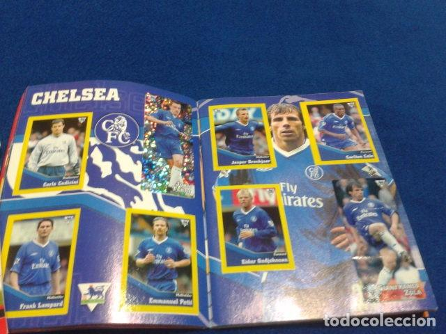 Coleccionismo deportivo: MINI ALBUM DE CHICLE POCKET COLLECTION F.A. PREMIER LEAGUE 2003 / 04 MERLIN FANTAN 15 CROMOS - Foto 9 - 110495075