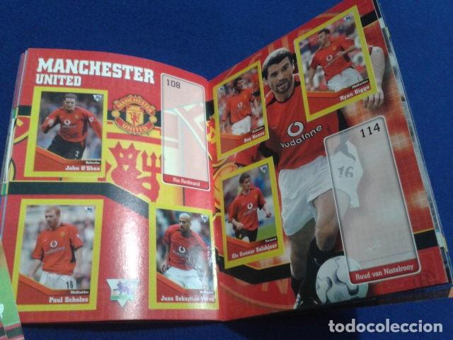 Coleccionismo deportivo: MINI ALBUM DE CHICLE POCKET COLLECTION F.A. PREMIER LEAGUE 2003 / 04 MERLIN FANTAN 15 CROMOS - Foto 16 - 110495075