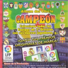 Coleccionismo deportivo: ALBUM CHICLE CAMPEON 1997, VACIO, NUEVO SIN USAR, VER TEXTO Y FOTOS. Lote 110678123
