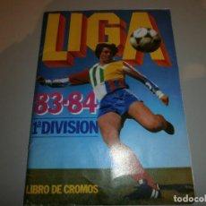 Coleccionismo deportivo: ALBUM COMPLETO LIGA 83-84 EDICIONES ESTE CON ALGUN DOBLE Y MUCHOS ULTIMOS FICHAJES BUEN ESTADO. Lote 110806195