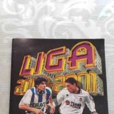 Coleccionismo deportivo: ALBUM DE CROMOS FUTBOL TEMPORADA 2000-01 OFICIAL LFP ED. ESTE. Lote 110815807