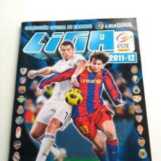 Coleccionismo deportivo: ÁLBUM VACÍO LIGA BBVA 2011-12 COLECCIONES ESTE. PANINI. Lote 111313978