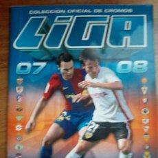 Coleccionismo deportivo: ÁLBUM ESTE 2007-2008 (VACÍO). Lote 111312943