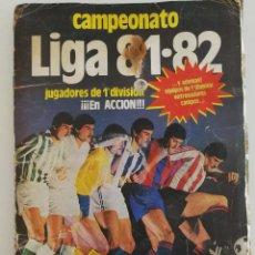 Coleccionismo deportivo: ALBUM FÚTBOL LIGA 81 82 EDITORIAL ESTE INCOMPLETO MÁS CROMOS SUELTOS. Lote 111407431