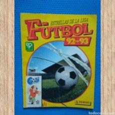 Coleccionismo deportivo: ÁLBUM CON 200 CROMOS ESTRELLAS DE LA LIGA DE FÚTBOL, 92-93, DE PANINI. Lote 110934972