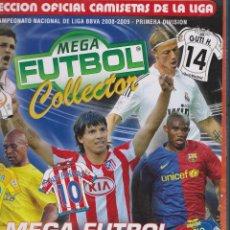 Coleccionismo deportivo: MEGA FUTBOL COLLECTION 2008-2009 -- CONTIENE 49 . Lote 111566631