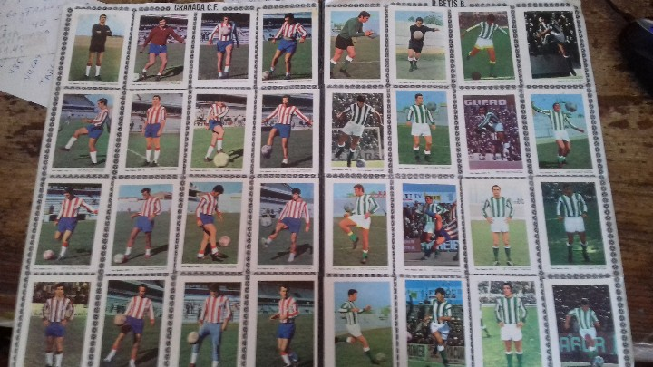 Coleccionismo deportivo: ALBUM 1971 1972 FHER DISGRA CAMPEONATO DE LIGA 71 72 COMPLETO SIN POSTER CENTRAL - Foto 6 - 56305601