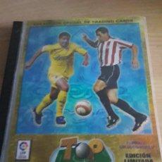 Coleccionismo deportivo: FÚTBOL ÁLBUM ORIGINAL VACÍO TOP LIGA 2006 MUNDICROMO. Lote 112041571