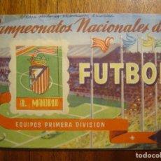 Coleccionismo deportivo: ATLETICO DE MADRID - ALBUM RUIZ ROMERO 1951 CAMPEONATOS NACIONALES DE FUTBOL 50/51 1950/51 23 CROMOS. Lote 112170095