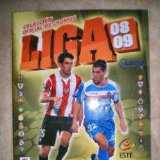 Coleccionismo deportivo: ALBUM LIGA ESTE 2008-2009, 08-09. PANINI. LIGA FUTBOL BBVA. Lote 112789591