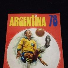 Coleccionismo deportivo: ÁLBUM DE CROMOS ARGENTINA 78 DE FHER. Lote 112830575