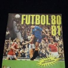 Coleccionismo deportivo: ÁLBUM DE CROMOS FÚTBOL 80 - 81 CROMO CROM. Lote 112830823